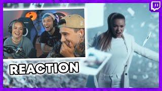 Ju Julia und Rezo REAGIEREN auf Julias Musikvideo (großen RESPEKT!!!)   Julien Bam Twitch Highlight