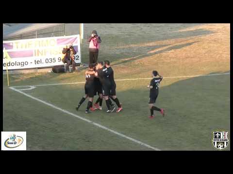 Pontisola-Virtus Bergamo 1-1, 3° giornata di ritorno Serie D Girone B 2018-2019