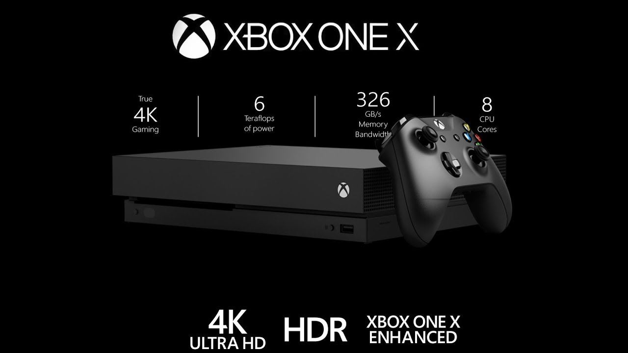 XBox One X preorders