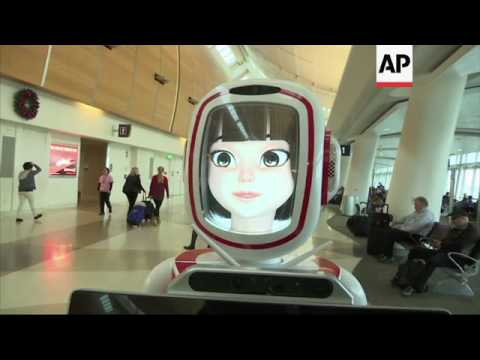 Customer Service Robots Debut in Malls, Airports