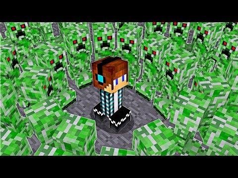 AUTHENTIC VS CREEPER !!  - [ Vida de Creeper #13 ] - Minecraft thumbnail