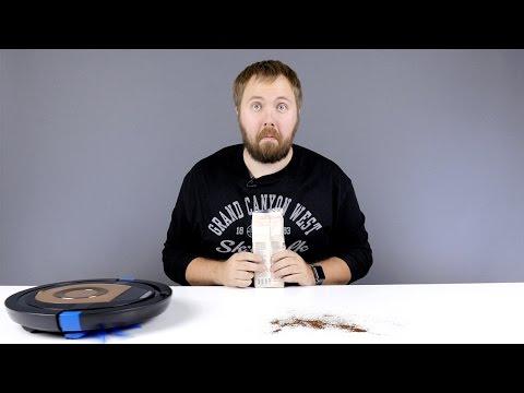 Робот-пылесос на страже добра