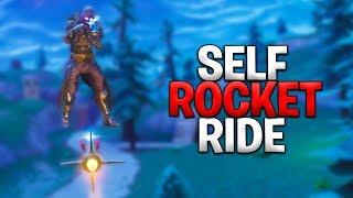 Rocket Riding Myself To Victory! Fortnite Battle Royale