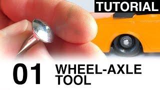 Gambar cover Tutorial: Matchbox Custom Wheel Axle Tool (for Drill Press)