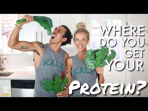 Where Do You Get Your Protein? (On A Whole Foods Plant-based Diet)