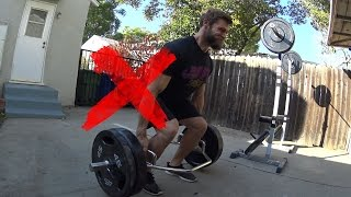 Deadlift Back Pain? Try This Simple Fix