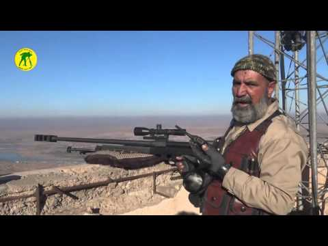 Iraqi Popular Mobilization Units Sniper kills 173 ISIS fighters  -  Abu Tahseen 5 war veteran
