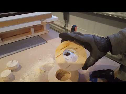 Making the rings for the vacuum in my DIY dust collector system