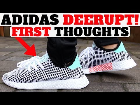 26ef26b12cf13 $100 adidas DEERUPT RUNNER First Thoughts! - YouTube