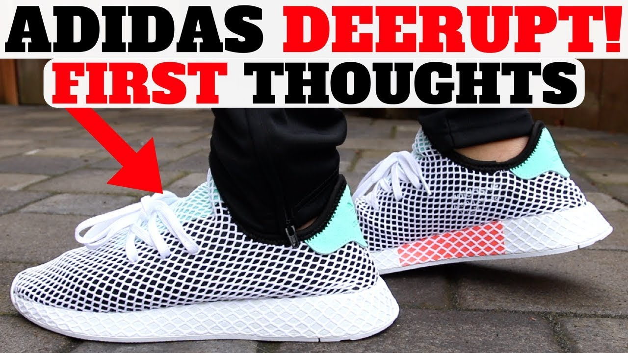 Final plan de ventas Inaccesible  $100 adidas DEERUPT RUNNER First Thoughts! - YouTube