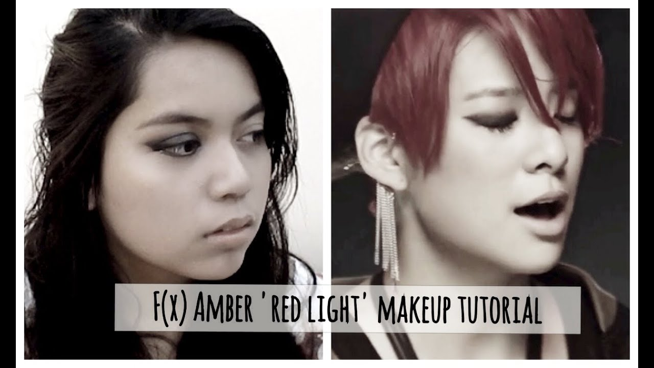 f(x) Amber 'Red Light' Inspired Makeup Tutorial ... F(x) Amber Red Light Live
