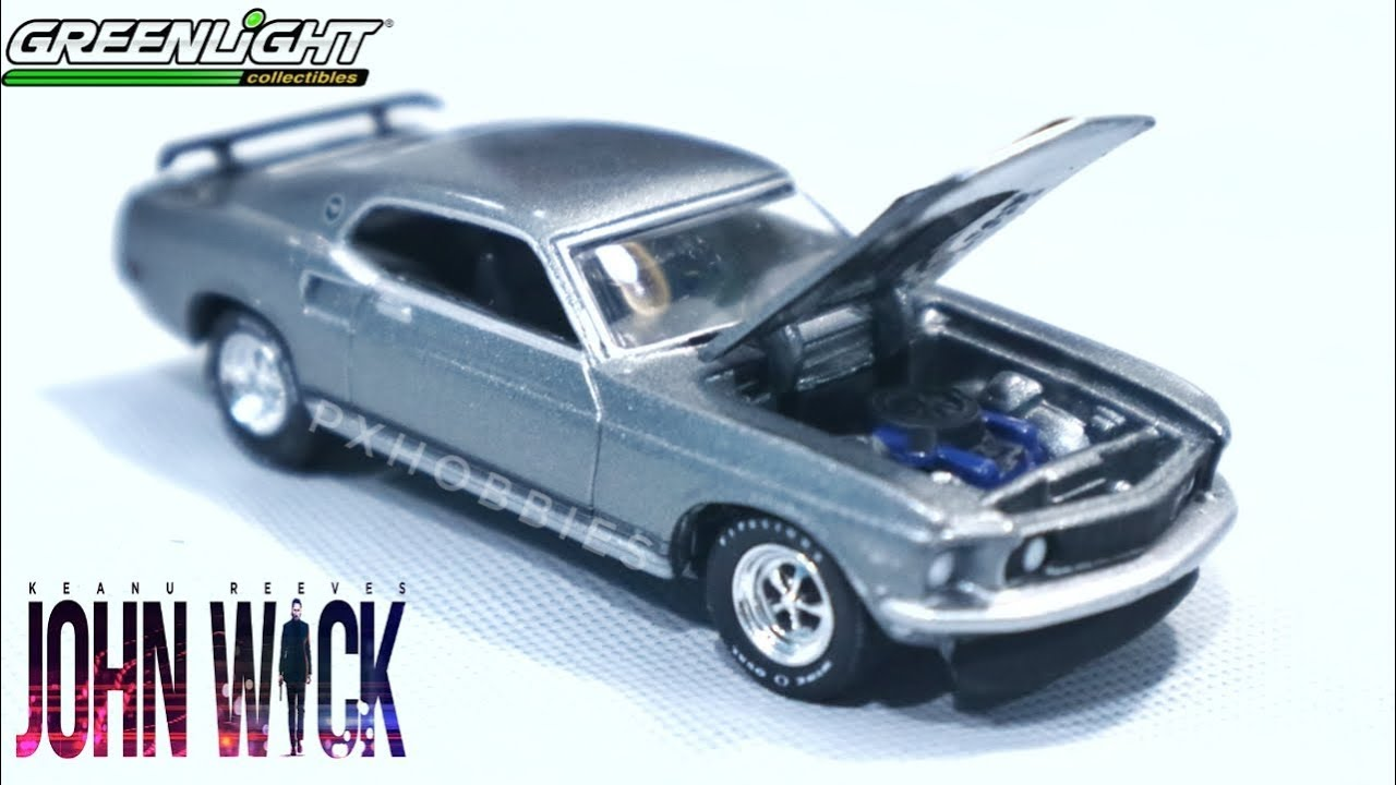 Review greenlight 1969 ford mustang boss 429 john wick