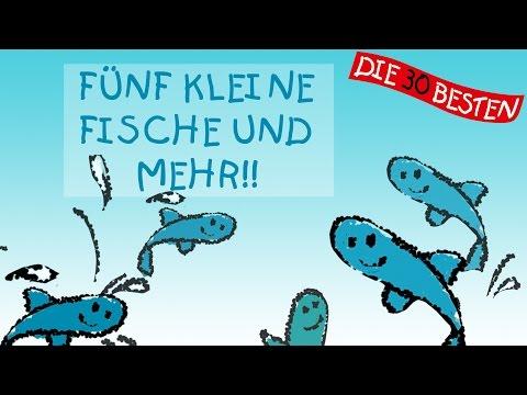 Fünf kleine Fische und weitere schöne Lieder - MIX || Kinderlieder