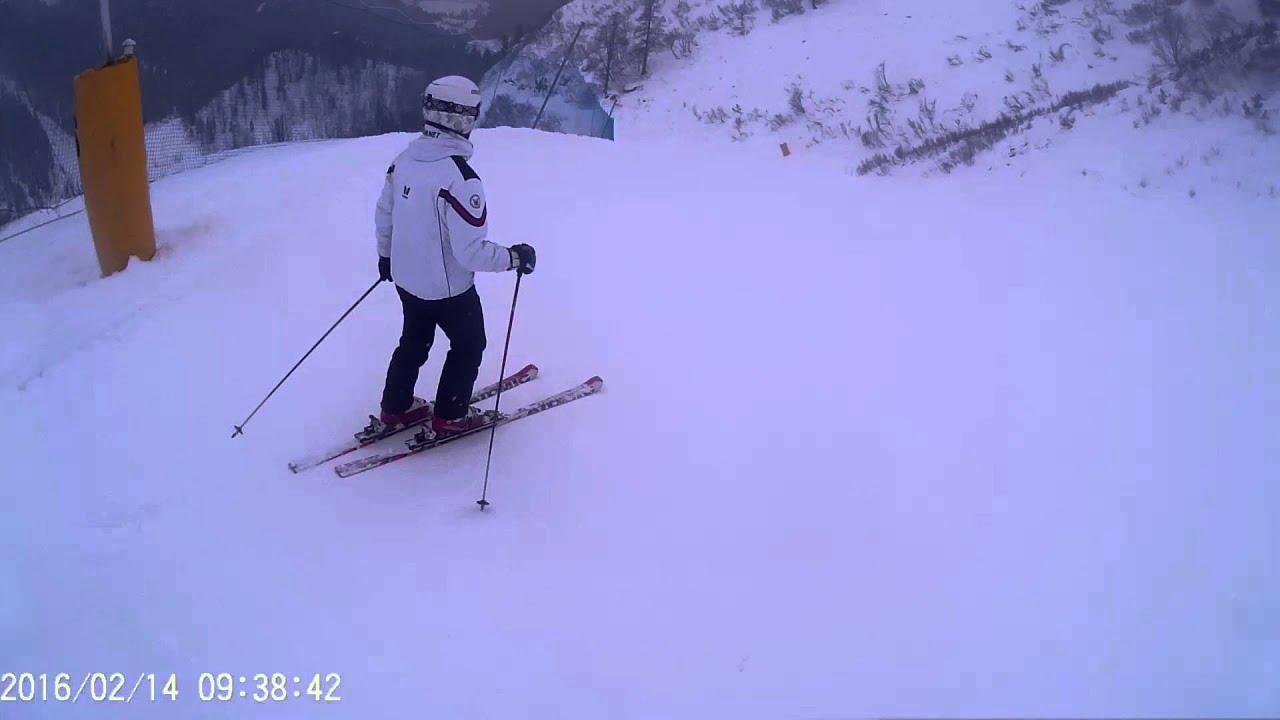 Giornata sugli sci a san martino di castrozza