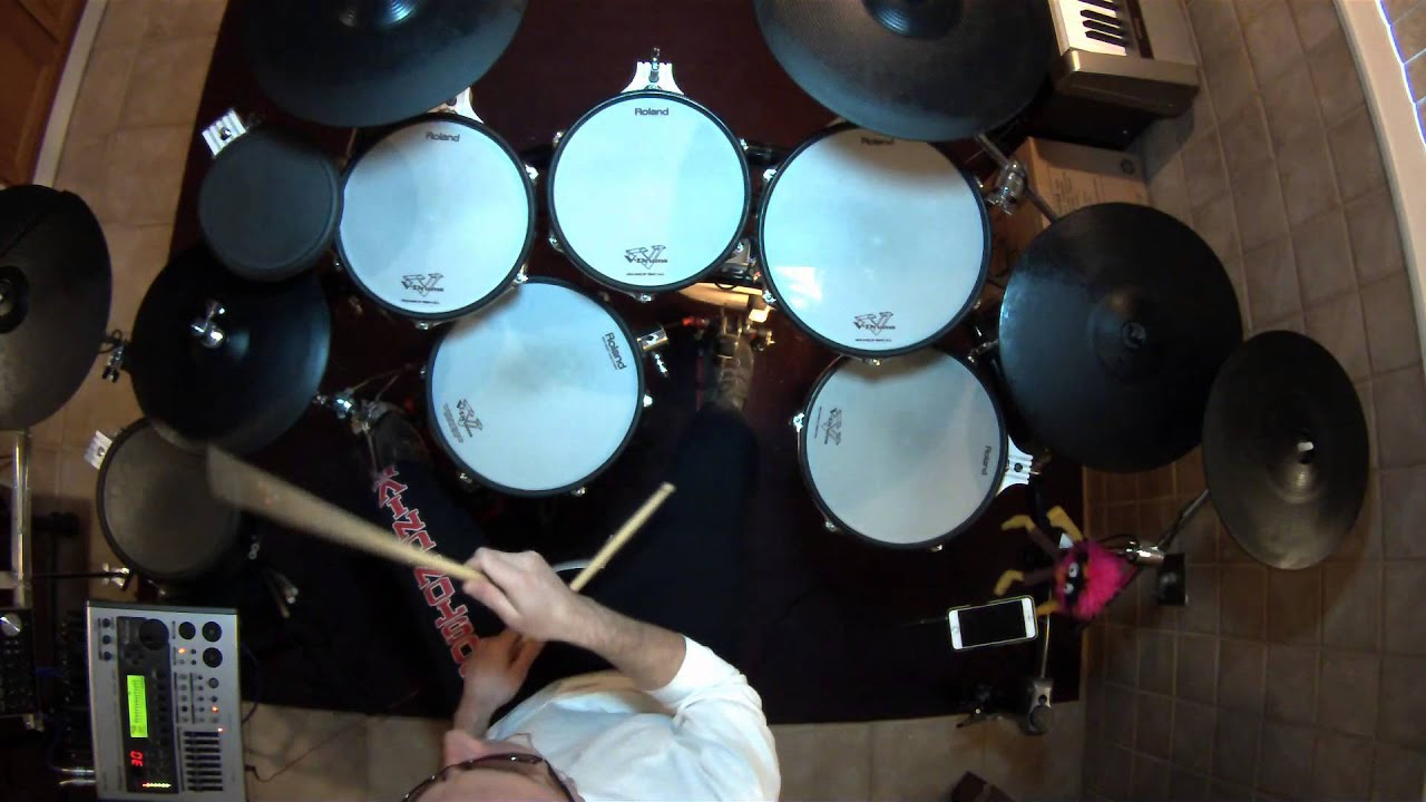 pink floyd learning to fly vdrum cover td20x