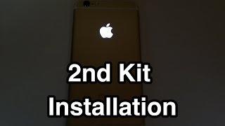 iPhone 6 iGlow - Light Mod, glowing Logo, leuchtender Apfel 2nd Kit Installation / Einbau