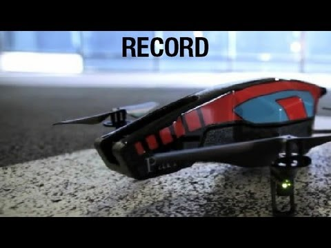 AR.Drone 2.0 Tutorial video #3 : Record
