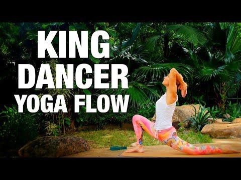 King Dancer Flow Yoga Class - Five Parks Yoga