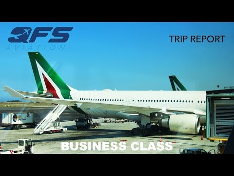 TRIP REPORT | Alitalia - A330 200 - New York (JFK) to Rome (FCO) | Business Class