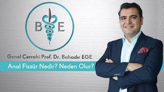 Anal fissür nedir? Neden Olur? / Prof. Dr. Bahadır Ege