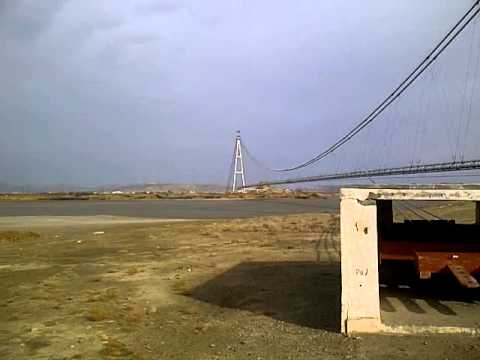 The pipeline bridge in Afghanistan by Russia