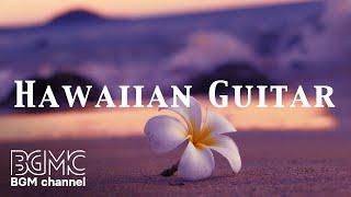 Hibiscus Hawaiian Sunset Guitar - Aloha Cafe Music - Tropical Beach Island for Paradise Holiday