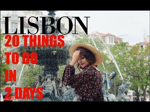 20 things to do in Lisbon in 2 days. Travel Guide