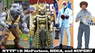 Toy Fair '19: NECA, Super7, and McFarlane Toys Highlights