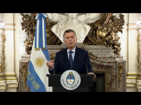 Palabras del Presidente Mauricio Macri