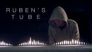 Cymatics: Ruben's Tube Vs. Tesla Coil