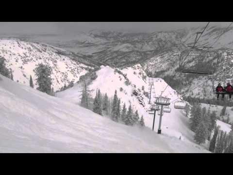 Powder Mountain - Steep and Deep