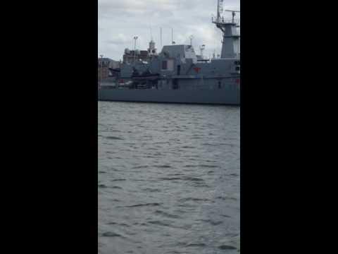 Irish Naval Vessel, Cobh Harbour