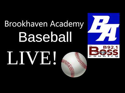 Brookhaven Academy vs Amite School Center May 2, 2019