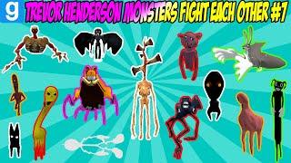 TREVOR HENDERSON MONSTERS FIGHT EACH OTHER #7 - Garry's Mod Sandbox