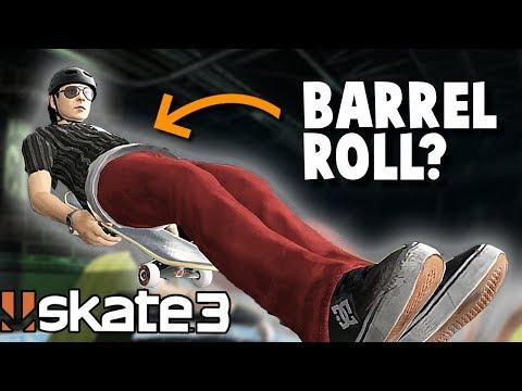 Skate 3: BARREL ROLL CHALLENGE?!