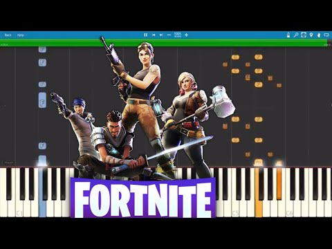 Fortnite Dances On Piano Compilation  Piano Tutorial
