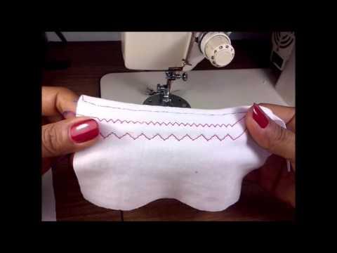 8 puntadas utilizadas en confecci n de ropa interior en m quina familiar youtube - Ropa interior tallas especiales ...