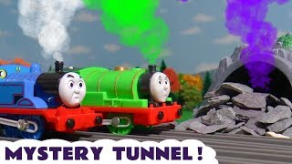 Thomas & Friends Trackmaster Mystery Tunnel with Colored Steam toy train story for kids