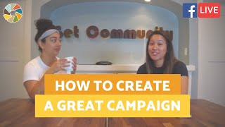How To Run a Great Campaign With Your Client