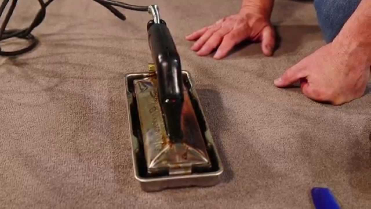 Floored by ORCON Fixing Carpet Roll Crush YouTube