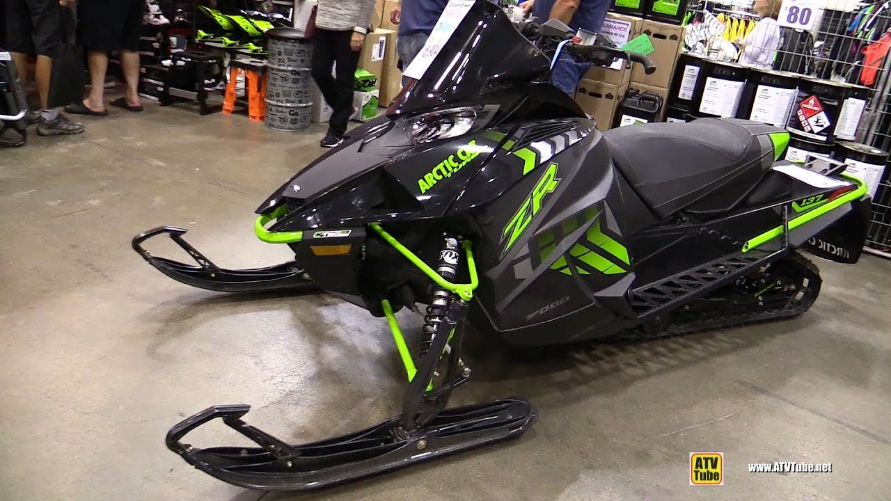 2017 Arctic Cat Zr 9000 Limited Sled Walkaround Toronto Snowmobile Atv Show
