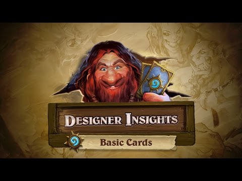 Official: Designer Insights with Ben Brode: Basic Cards