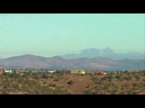 Fata Morgana - Weird Mirage Effect in the High Desert of AZ