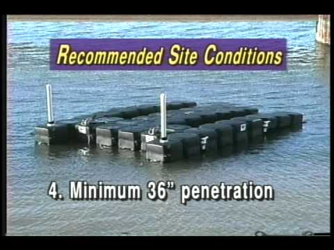 JetDock Stand Alone Mooring System - Boat Lifts / Docks