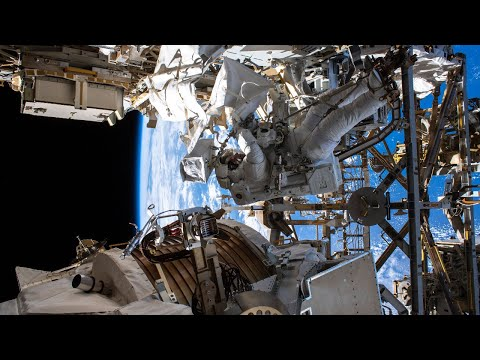 Alpha Magnetic Spectrometer Repair Spacewalk #2, Nov. 22, 2019
