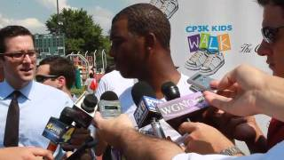 New Orleans Hornet Chris Paul talks about playing without David West