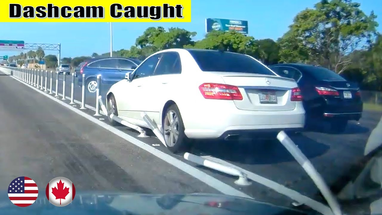 Ultimate North American Cars Driving Fails Compilation - 352 [Dash Cam Caught Video]
