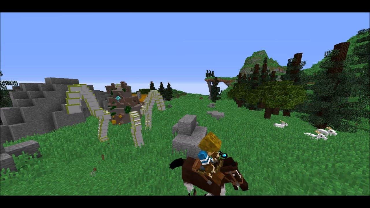 Zelda Breath of the Wild inspired adventure map [vanilla][Video ...