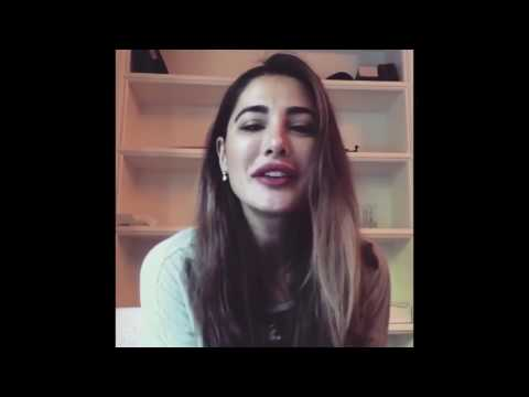 Nargis Fakhri Message For Peshawar Zalmi & Javed Afridi HBL PSL 2017 HD
