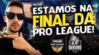 🔴 FREE FIRE 🔴 AO VIVO - BD NA FINAL DA PRO LEAGUE !!!  - RUMO AOS #500K INSCRITOS